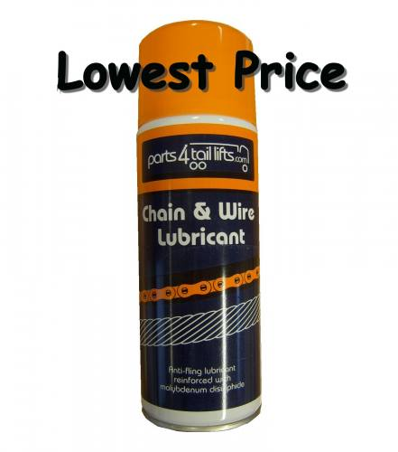 Tail Lift Lubricant - 400ml  p4tlschainlube