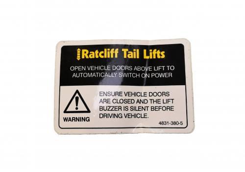 Auto Switch Label 4831-380-5